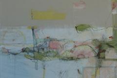'Tidal Flow', mixed media, 2016